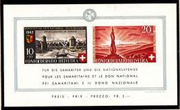 SUISSE - BLOC N°  7** - Fête Nationale - Pour Les Samaritains Et Le Don National. - Blocks & Sheetlets & Panes