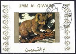 Umm Al-Qiwain 1972 - Mi B 1545 BwBL - YT Xxx ( Fauna : Koala ) Block Impeforated - Altri