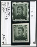 Rumänien  - Romina - Roumenie - Rominia - Michel 1195 A + B - ** Mnh Neuf Postfris - Stalin - Ungebraucht