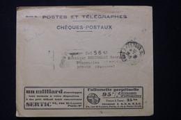 FRANCE - Enveloppe Des PTT Avec Publicité Au Verso ( Allumettes ) Pour Renaze En 1928  - L 90079 - 1921-1960: Modern Period