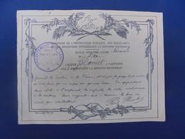 EMPRUNT DEFENSE NATIONALE ECOLE NORMALE DE DAX (landes) J. Darriet - 1914-18