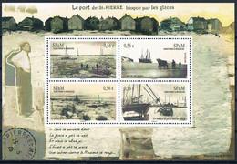 St Pierre Et Miquelon 2009  Le Port De St Pierres BF N°14  Neuf  MNH ** - Neufs