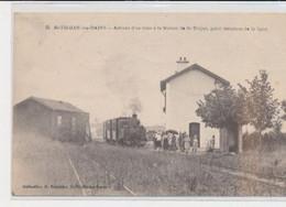 ST-TROJAN-LES-BAINS - Arrivée D'un Train à La Station De St-Trojan, Point Terminus De La Ligne - Très Bon état - Altri Comuni