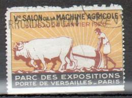 Vignette Ve Salon De La Machine Agricole 1926, Parc Des Expositions Porte De Versailles, Paris - Autres