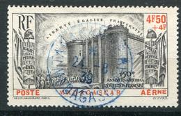 Madagascar  PA 15 Oblitéré     Bastille - 1939 150e Anniversaire De La Révolution Française
