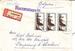 Allemagne - République Démocratique - Lettre Recom De 1965 - Oblit Luckenwalde - Valeur 50 Euros - Briefe U. Dokumente
