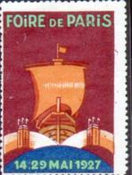 Vignette Foire De Paris 1927 - Autres