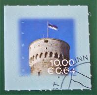 DRAPEAU SUR TOUR PIKK 2007 - OBLITERE - YT 559 - MI 591 - BELLE OBLITERATION - Estonie