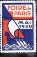 Vignette Foire De Paris 1928 - Autres