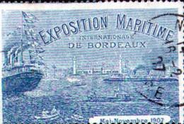 Vignette Foire Exposition Maritime De Bordeaux 1907 - Autres