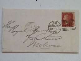 Letter + Cover Edinburgh SP 15 75 One Penny - Briefe U. Dokumente