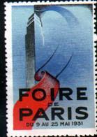 Vignette Foire De Paris 1931 - Autres