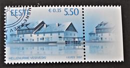 MOULIN A EAU D'HELLENURME 2007 - OBLITERE - YT 550 - MI 592 - BORD DE FEUILLE - Estonie