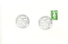LOIRE / HAUTE - Dépt N° 43 = LE PUY En VELAY 1991 = CACHET TEMPORAIRE Illustré = PREMIERES FORESTIERES AUVERGNE - Cachets Commémoratifs