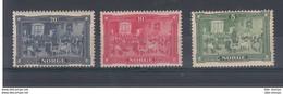 Norwegen Michel Cat.No. Vlh/* 93/95 - Unused Stamps