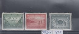 Norwegen Michel Cat.No. Mnh/** 292/294 - Unused Stamps