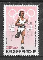 COB 1974 ** - Ivo VAN DAMME - Athlétisme - Nuevos