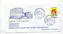 Lettre Cachet Jeumont Exposition Regionale - Cachets Commémoratifs