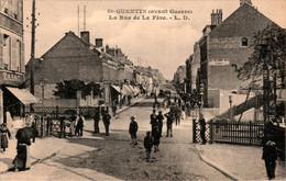 Saint-Quentin ( Avant Guerre ) La Rue De La Fère Devanture Tabac Aisne 02100 Dos Vert Cpa Non Ecrite Au Dos En TB.Etat - Saint Quentin