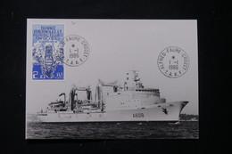 T.A.A.F. - Carte Maximum En 1986 - Bateau - L 90093 - Briefe U. Dokumente