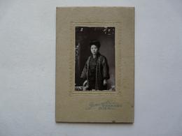 PHOTO ANCIENNE - JAPON : Portrait - Tenue Traditionnelle - Persone Anonimi