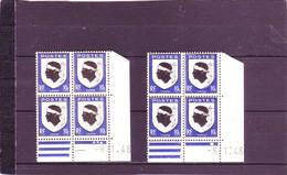N° 755- 10c Blason De LA CORSE - Paire E+F - 1° Tirage Du 8.01.1948 Au 9.1.1948 - 1° Jour - - Non Classés