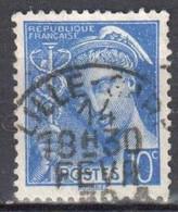 France 1938 - Mi.376 - Used - Oblitéré - 1938-42 Mercure