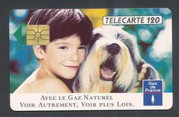 GAZ DE FRANCE  ENFANT ET CHIEN - 120 Unità