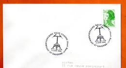 67 SAVERNE   TOUR CHAPPE    1988 Lettre Entière N° JK 712 - Cachets Commémoratifs