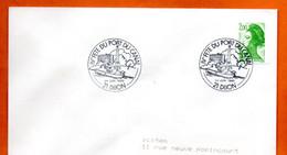 21 DIJON   IV° FETE DU PORT DU CANAL   1988 Lettre Entière N° JK 713 - Cachets Commémoratifs