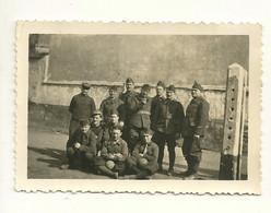 PHOTO ORIGINALE / GROUPE DE SOLDATS - Guerre, Militaire