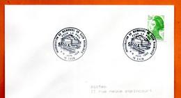 14 CAEN    POUR LA PAIX   1988 Lettre Entière N° JK 718 - Cachets Commémoratifs