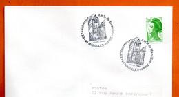 94 MAROLLES EN BRIE AMIS DE MAROLLES 1988 Lettre Entière N° JK 720 - Cachets Commémoratifs