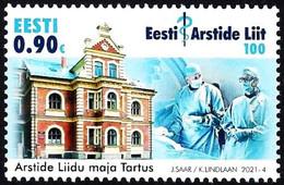 Estonia Estland Estonie 2021 (04) 100th Anniversary Of The Estonian Medical Association - Surgery - Estonie