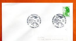 77 COMBS LA VILLE DUBERSTADT  1988 Lettre Entière N° JK  724 - Cachets Commémoratifs