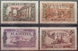 R2452/135 - 1925 - COLONIES FR. - ALAOUITES - POSTE AERIENNE - SERIE COMPLETE - N°5 à 8 NEUFS* - Neufs
