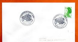 83 TOULON   ASPTT 1988 Lettre Entière N° JK  727 - Cachets Commémoratifs