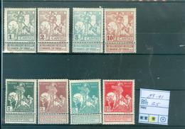 84-91  X   Côte 35€ - 1910-1911 Caritas