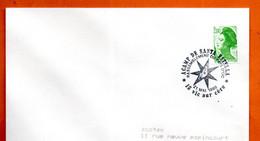 15 VIC SUR CERE  ACAMP DE SANTA ESTELLA  1988 Lettre Entière N° JK  728 - Cachets Commémoratifs