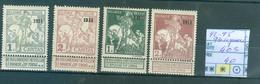 92-95 93 Regommé  X   Côte 403€ - 1910-1911 Caritas