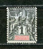MADAGASCAR - SERIE COURANTE - N° Yvert  28 OBLITERE - Oblitérés