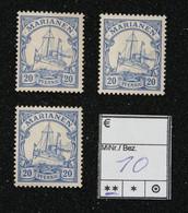 Nr. 10 Marianen Postfrisch - Colonia:  Isole Marianne