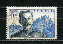 MADAGASCAR (RF) : LYAUTEY - Yvert N° 325 Obli - Oblitérés