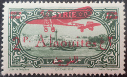 R2452/139 - 1930 - COLONIES FR. - ALAOUITES - POSTE AERIENNE - N°17 NEUF* - Neufs