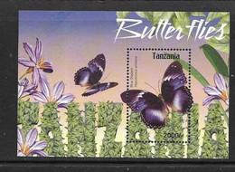 TANZANIE 2004 PAPILLONS YVERT N°B503 NEUF MNH** - Papillons