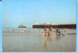 Groeten Uit Knokke-Zoute-1974-Albert Plage-Mailboot-Malle Poste-pas Courante - Knokke