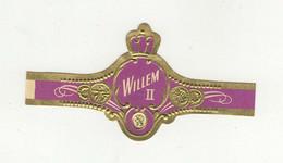 BAGUES DE CIGARES  1 EX.   WILLEM II   N° 1639 - Bauchbinden (Zigarrenringe)