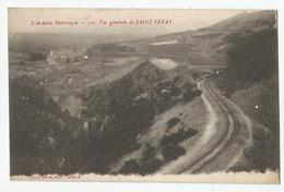 07 Ardèche Vue Générale De Saint Péray Ligne Chemin De Fer - Saint Péray