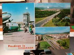 AIRPORT TITOGRAD (Podgorica) MONTENEGRO - Aerodromi