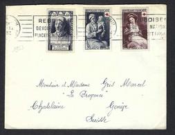 FRANCE 1953: LSC De Paris Pour La Suisse - Briefe U. Dokumente